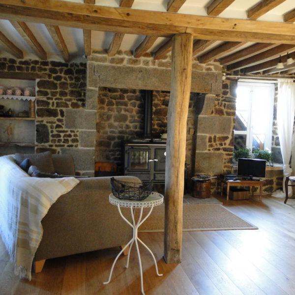Le Salon - Cottage - La Vieille Longère