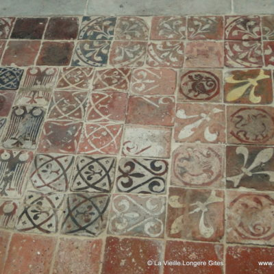 Medieval Tiles at the Abbey St Pierre s/ Dives