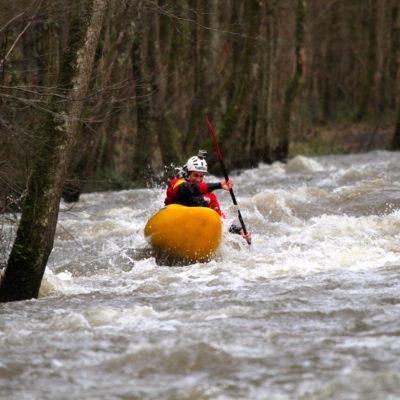 Kayak sur La Rouvre Fev 2013