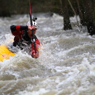 Kayak sur La Rouvre