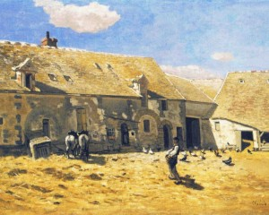 Claude Monet - Normandy farm